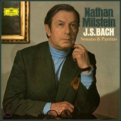 Nathan Milstein 바흐: 바이올린을 위한 무반주 파르티타와 소나타 [3LP 박스 세트]
