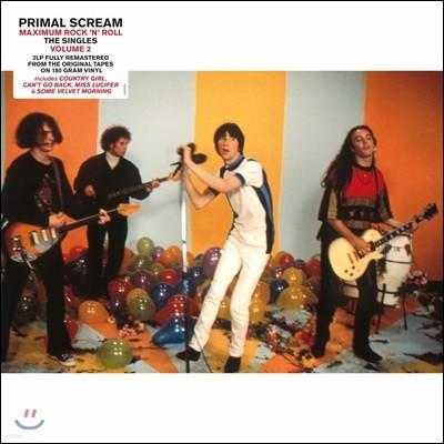 Primal Scream (프라이멀 스크림) - Maximum Rock 'N' Roll: The Singles Volume 2 [2LP]