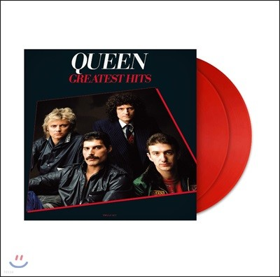 Queen (퀸) - Greatest Hits [레드 컬러 2LP]