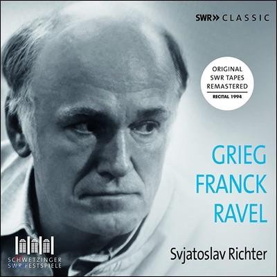 스비아토슬라프 리히터가 연주하는 그리그 / 세자르 프랑크 / 라벨 (Svjatoslav Richter Plays Grieg / Franck / Ravel)