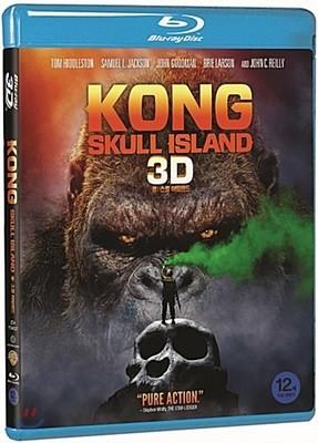 콩:스컬 아일랜드 (2D+3D 2Disc 일반판) : 블루레이