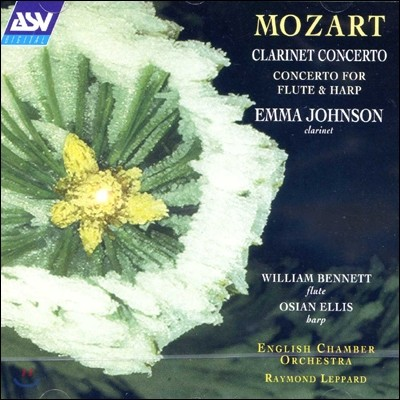 Emma Johnson 모차르트: 클라리넷 협주곡, 플루트와 하프를 위한 협주곡 (Mozart: Clarinet Concerto & Concerto for flute & harp) 엠마 존슨