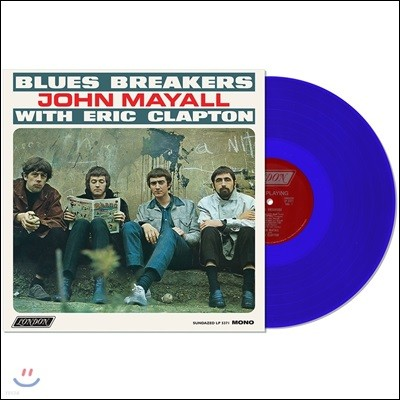 John Mayall And The Blues Breakers - Blues Breakers With Eric Clapton (Mono Edition) [블루 컬러 LP]