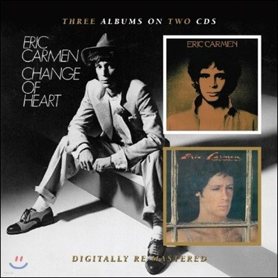 Eric Carmen - Eric Carmen / Boats Against The Current / Change Of Heart