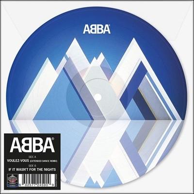 Abba (아바) - Voulez-Vous (Extended Dance Mix) [7인치 픽쳐 디스크 LP]
