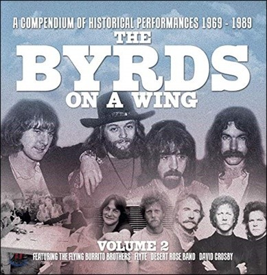 The Byrds (더 버즈) - The Byrds on A Wing Volume 2 [6CD 박스세트]
