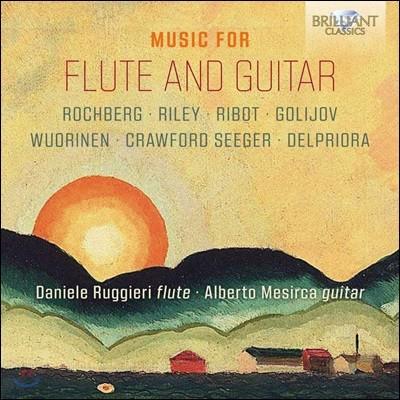 Daniele Ruggeri / Alberto Mesirca 플루트와 기타로 연주하는 20세기 미국 작곡가 작품집 (Music for Flute and Guitar)