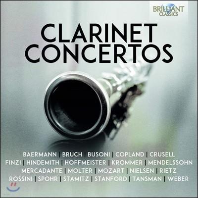 여러 작곡가들의 클라리넷 협주곡 모음집 (Clarinet Concertos)