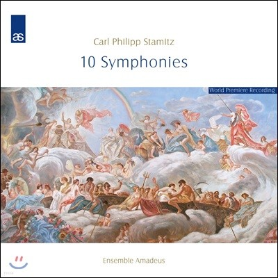 Ensemble Amadeus 카를 슈타미츠: 10곡의 교향곡 (Carl Stamitz: 10 Symphonies)