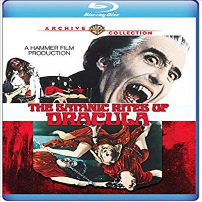 Satanic Rites Of Dracula (드라큘라 백작과 그의 뱀파이어 신부)(한글무자막)(Blu-ray)