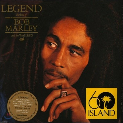 Bob Marley & The Wailers - Legend 밥 말리 베스트 앨범 [2LP]