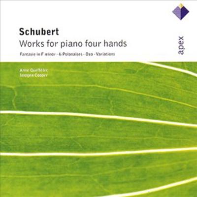 슈베르트 : 네 손을 위한 피아노 작품 (Schubert : Works For Piano Four Hands) - Anne Queffelec