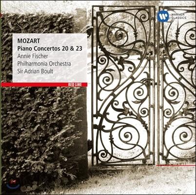 Annie Fischer 모차르트 : 피아노 협주곡 20번 23번 (Mozart: Piano Concertos Nos. 20 & 23)