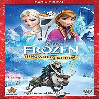 Frozen Sing Along Edition (겨울왕국 싱어롱 에디션)(지역코드1)(한글무자막)(DVD)