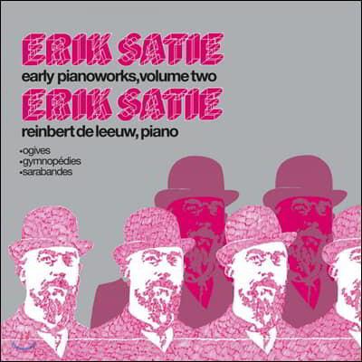 Reinbert de Leeuw 에릭 사티: 초기 피아노 연주집 2권 (Erik Satie: Early Pianoworks Vol. 2) [LP]