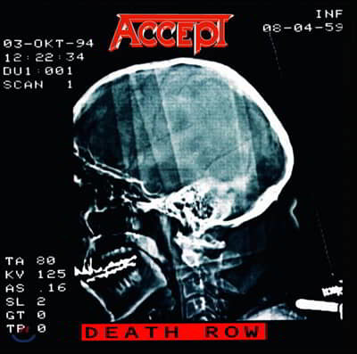 Accept (억셉트) - Death Row [2LP]