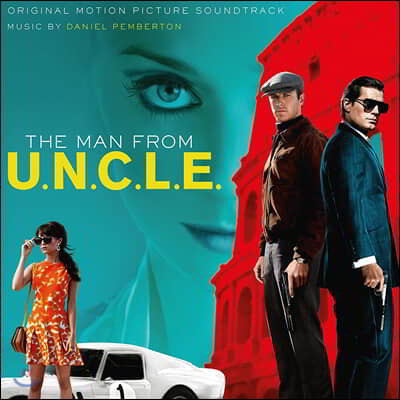 맨 프롬 U.N.C.L.E. 영화음악 (Man From U.N.C.L.E. OST) [2LP]