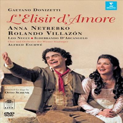 도니제티 : 사랑의 묘약 (Donizetti : L`Elisir D`Amore) (DVD) - Anna Netrebko