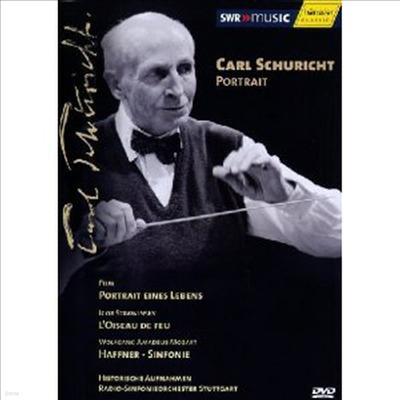칼 슈리히트의 초상 (Carl Schuricht - Portrait eines Lebens) (NTSC) (DVD)(2005) - Carl Schuricht