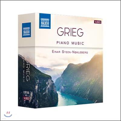 Einar Steen-Nokleberg 그리그: 피아노 독주곡 모음집 (Grieg: Complete Piano Music)
