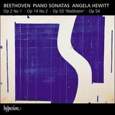 Angela Hewitt 베토벤: 피아노 소나타 8집 - 1, 2번, 발슈타인 / 안젤라 휴이트
