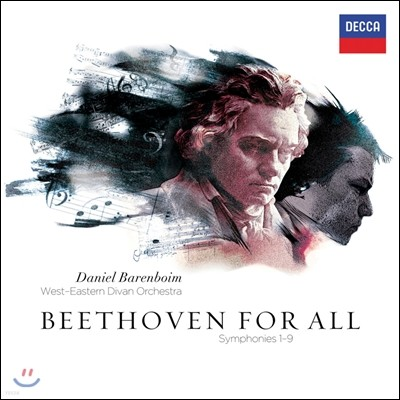 Daniel Barenboim 베토벤 : 교향곡 전곡집 (Beethoven for All : Symphonies 1-9) 다니엘 바렌보임