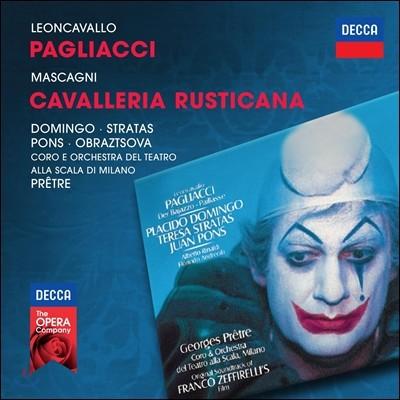Placido Domingo 루지에로 레온카발로: 팔리아치 / 마스카니: 카발레리아 루스티카나 (Ruggiero Leoncavallo: Pagliacci / Mascagni: Cavalleria Rusticana)