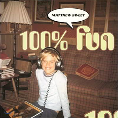 Matthew Sweet (매튜 스위트) - 100% Fun [LP]