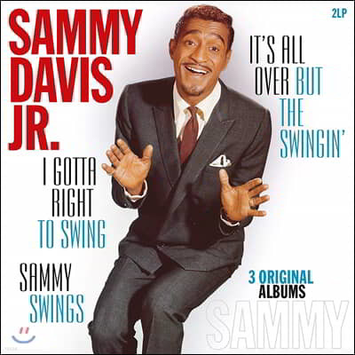 Sammy Davis Jr. (새미 데이비스 주니어) - I Gotta Right To Swing / It's All Over But The Swingin' / Sammy Swings [2LP]