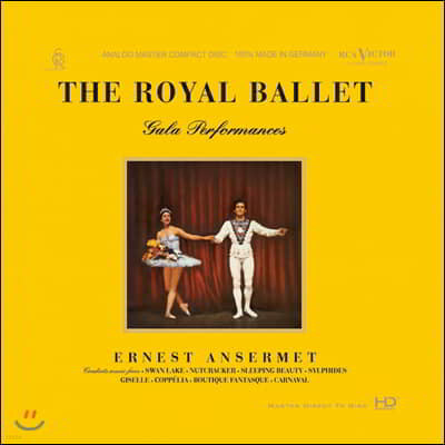 Ernest Ansermet 발레음악 작품집 (The Royal Ballet Gala Performances)