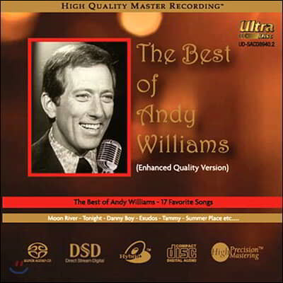 Andy Williams (앤디 윌리암스) - The Best Of Andy Williams