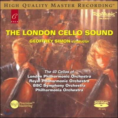 40대의 첼로로 연주하는 클래식 소품집 (The London Cello Sound) [LP]