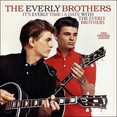 Everly Brothers (에벌리 브라더스) - It's Everly Time / Date With [LP]