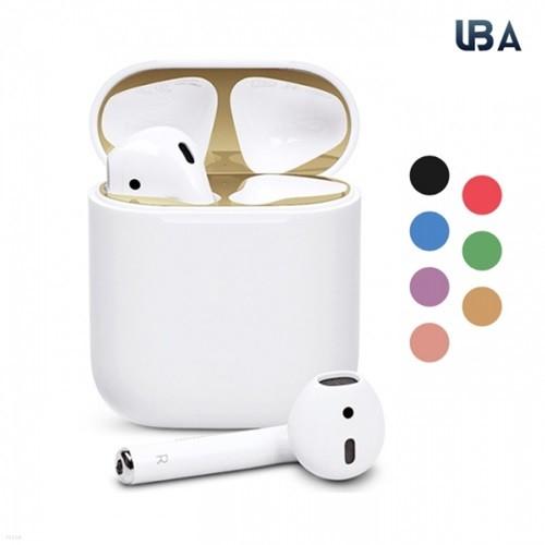 UBA 에어팟 1세대 2세대 철가루 방지 메탈 스티커 7장세트 무료배송