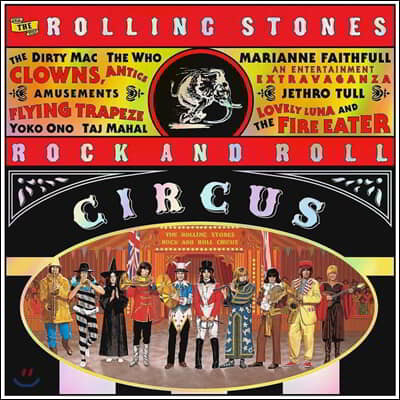 Rolling Stones - Rock And Roll Circus 롤링 스톤스 1968년 라이브 앨범