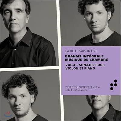 Pierre Fouchenneret 브람스: 바이올린 소나타 전곡 (Brahms: Complete Chamber Music)