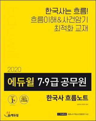 2020 에듀윌 7·9급 공무원 한국사 흐름노트