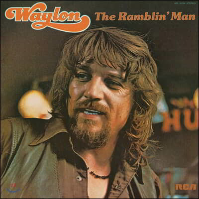Waylon Jennings (웨일런 제닝스) - The Ramblin' Man [LP]