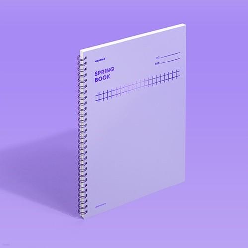 [모트모트] 스프링북 컬러칩 - 바이올렛 (스퀘어드)