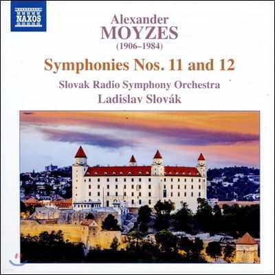 Ladislav Slovak 알렉산더 모이제스: 교향곡 11, 12번 (Alexander Moyzes: Symphonies Op. 79, 83)