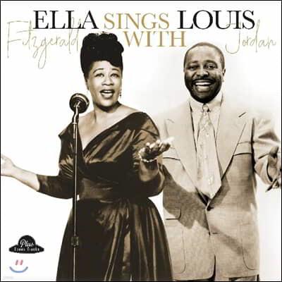 Ella Fitzgerald & Louis Jordan (엘라 피츠제럴드 & 루이스 조던) - Ella Sings With Louis Jordan [LP]
