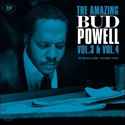 Bud Powell (버드 파웰) - Amazing Bud Powell Vol. 3 & 4 [2LP]