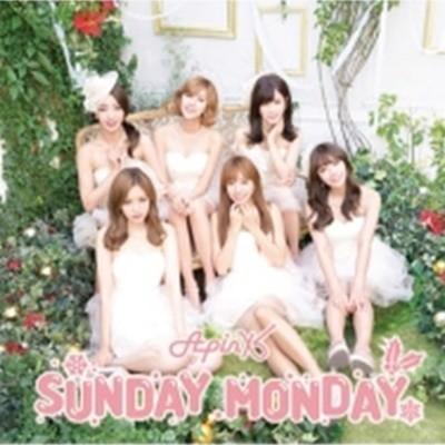 에이핑크 / Sunday Monday -Japanese Ver.- (CD+DVD 초회생산한정반 B/일본수입/포토카드포함)