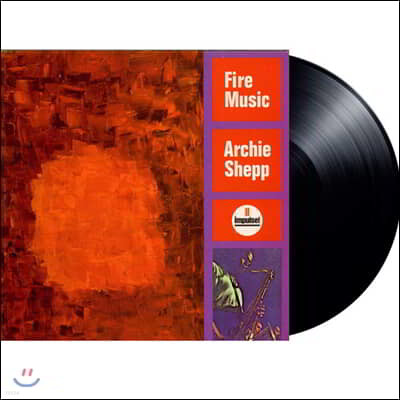 Archie Shepp (아치 세프) - Fire Music [LP]