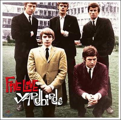 The Yardbirds (야드버즈) - Five Live Yardbirds [LP]