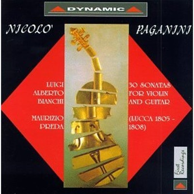 Luigi Alberto Bianchi / Maurizio Preda 파가니니: 바이올린과 기타를 위한 루카 소나타 1집 (Paganini: Lucca Sonatas for Violin & Guitar)