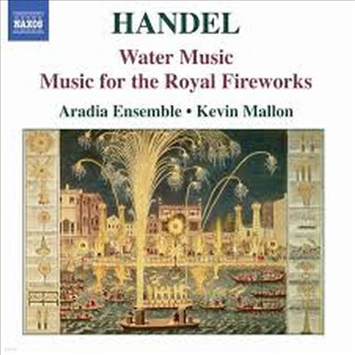 헨델 : 수상음악, 왕궁의 불꽃놀이 (Handel : Water Music, Music For The Royal Fireworks) - Kevin Mallon