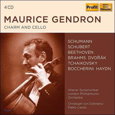 모리스 장드롱 첼로 녹음 선집 (Maurice Gendron - Charm and Cello)