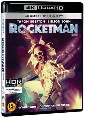 로켓맨 (2Disc 4K UHD + 2D) : 블루레이