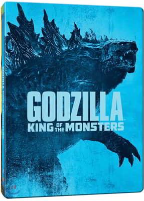 고질라: 킹 오브 몬스터 (2Disc 4K UHD + 2D 스틸북 한정수량) : 블루레이